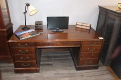 Executive solid wood desk in Kingwood, Texas