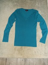 Junior lightweight teal sweater in Naperville, Illinois