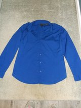 Royal Blue Long Sleeve Blouse in Naperville, Illinois
