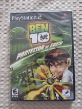 PS2 BEN 10 PROTECTOR OF EARTH GAME in Fort Leonard Wood, Missouri