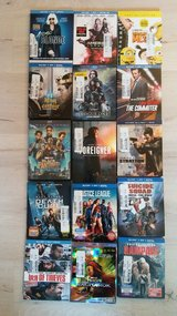 DVD LOT collection 2018 Robin Hood,The Girl in the Spider Web etc; or individual ...pick and giv... in Ramstein, Germany