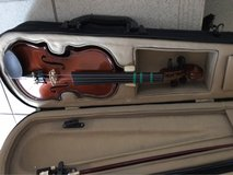 1/10 violin with case in Ramstein, Germany