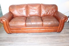 Leather Sofa in Kingwood, Texas