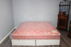 King size double sided Sealy posturepedic mattress in Kingwood, Texas