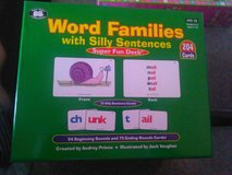 Super Duper Word Family Cards in Camp Lejeune, North Carolina
