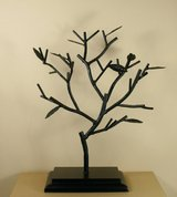 Wrough iron jewelry tree in Joliet, Illinois