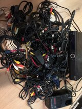 box of cables in Ramstein, Germany