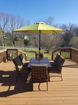 Like New Patio Dining Set in Fort Campbell, Kentucky