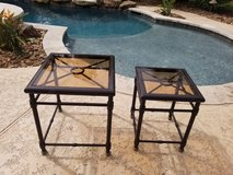 Outdoor Aluminum Stacking tables in The Woodlands, Texas