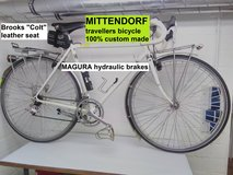MITTENDORF travellers bicycle: 100% custom made in Ramstein, Germany