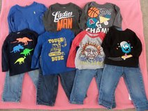 12 Month Boys Shirts and Jeans Outfits in Kingwood, Texas