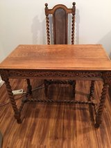 Antique Desk and Chair in Naperville, Illinois