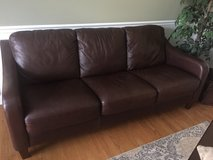 Leather couch and 2 matching chairs in Bolingbrook, Illinois