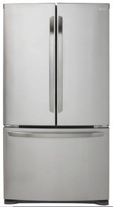 LG 20.9 cu. ft. French Door Refrigerator in Stainless Steel, Counter Depth in Great Lakes, Illinois