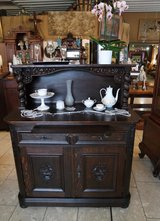 beautiful antique cabinet with hand carved ornaments in Wiesbaden, GE