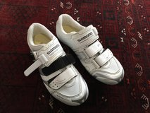 Shimano ladies clip on bicycle shoes size 8 in Ramstein, Germany
