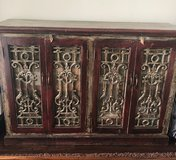 Antique Wood Credenza in The Woodlands, Texas
