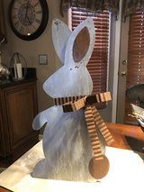 New Galvanized Stand Up or Hanging Easter Bunny in Aurora, Illinois