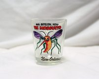 Shot Glass NOLA New Orleans Mosquito Tequila Beer Bar Drink Party Wine Liquor in Houston, Texas