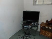 TV and Stand in Ramstein, Germany