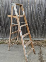 6 ft Werner Wood Ladder in Spring, Texas