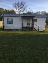 One bedroom bathroom mobile home in country partly furnished bills paid Up to $100 a month on th... in Leesville, Louisiana