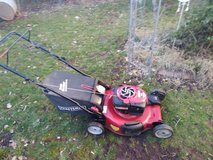 Self Propelled Lawn Mower with bag 6.75 HP in Ramstein, Germany