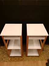 white side tables in Ramstein, Germany