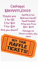 Bedroom Kandi Raffle in Camp Lejeune, North Carolina