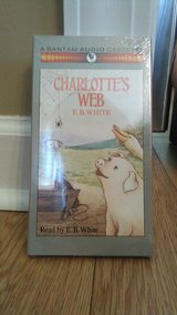 Charlotte's Web audio cassettes brand new in Camp Lejeune, North Carolina