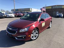 2015 CHEVROLET CRUZE LTZ SEDAN 4D 4-Cyl ECOTEC 1.4 TURBO Liter in Fort Campbell, Kentucky