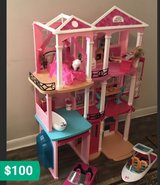 Barbie Dream House & Accessories in Byron, Georgia