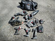 Porter cable tool set in Fort Campbell, Kentucky