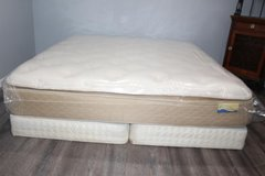 King size mattress by Spring Air (Pillowtop) in Spring, Texas