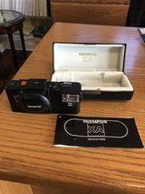 Olympus XA 35 mm Rangefinder Film Camera with A-11 Flash - in Box with Manual in Naperville, Illinois