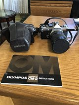 Olympus OM-2 35 mm Camera with Manual and Case in Naperville, Illinois