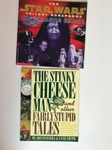 2 kids' books - Star Wars and Stinky Cheese Man in Lockport, Illinois