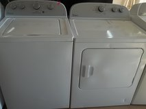 WHIRLPOOL WASHER & DRYER in Fort Bragg, North Carolina