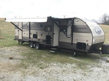 2018 Forest River Grey Wolf 26DBH Bunkhouse Camper With New Deluxe Mattress in Fort Campbell, Kentucky
