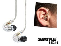 Shure SE215-CL Sound Isolating headphone with Single Dynamic Micro Driver (USED) in Ramstein, Germany