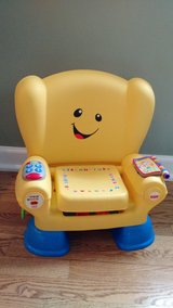 Fisher Price Laugh and Learn Smart Stages Chair in Wheaton, Illinois