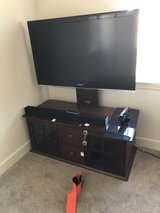 Non smart TV, sound bar and stand combo! in Camp Pendleton, California