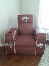 Man cave Bud Light recliner in Wheaton, Illinois