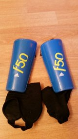 Adidas F50 shin guards in Joliet, Illinois