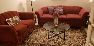 Matching couch with fold in bed and love seat in Joliet, Illinois