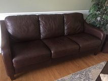 Divani leather couch and 2 matching chairs in Joliet, Illinois