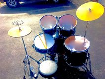 ** $220 COMPLETE FULL DRUMSET w/EXTRAS!! ** in Joliet, Illinois