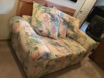 Love Seat - Canvas Fabric in Fort Lewis, Washington
