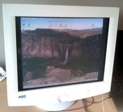 """Fast 17"""" 85 Hz CRT monitor for gaming, AOC 9k1r, Hilltop Tacoma 98405 in Fort Lewis, Washington"""