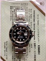 ROLEX Submariner Watch -- Authentic in Okinawa, Japan